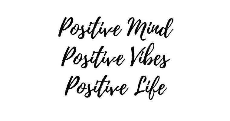 Positive vibes aan trekken en je frequentie verhogen
